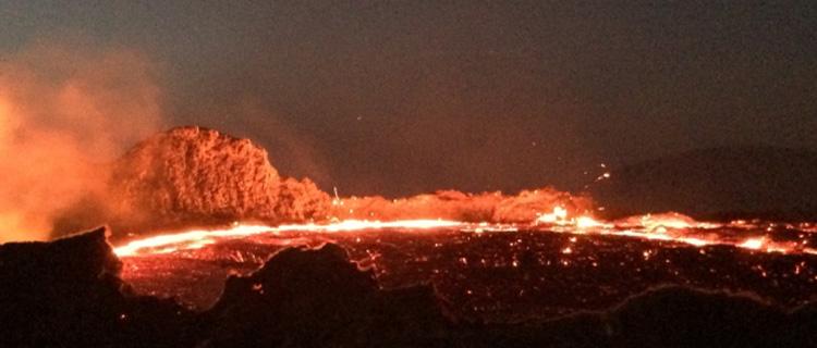 ⑥火山の噴火から逃げる夢